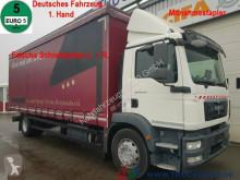 camion MAN TGM 18.250 Schiebeplane Mitnahmestapler Aufnahme