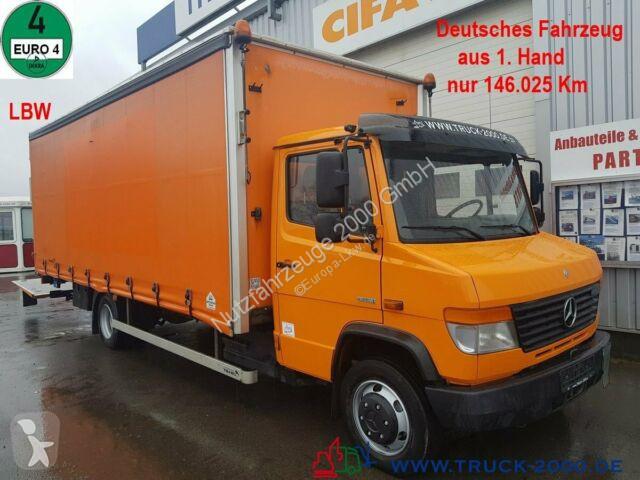 Voir les photos Camion Mercedes 816 D Vario Schiebeplanen LBW 3 Sitze nur 146TKM