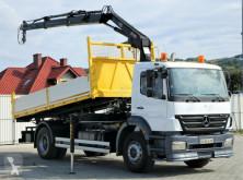 camion Mercedes Axor 1829 Kipper 5,20m + Kran*Topzustand