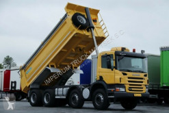 camion Scania P 380 / 6X4 /TIPPER / SKIBICKI / MANUAL /