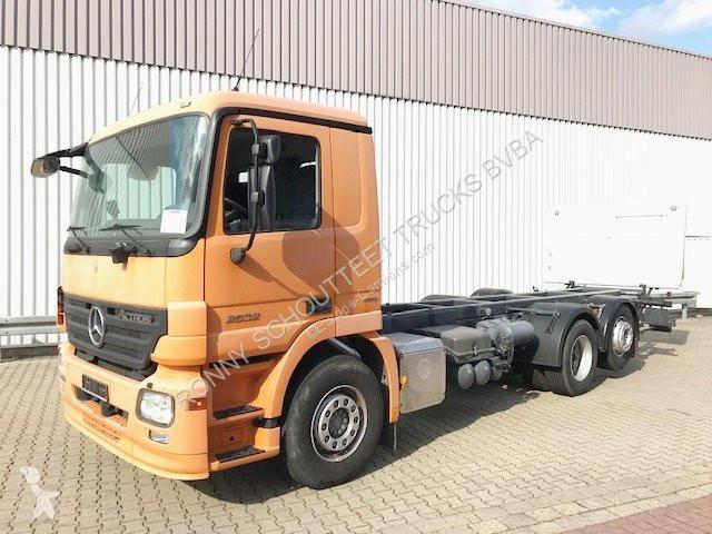 Voir les photos Camion Mercedes 2532 L 6x2 2532 L 6x2, Retarder, Lenk-/Liftachse, LBW MBB