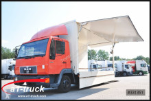 camion MAN 8.153, Koffer, L 5600mm, 3 Sitze,
