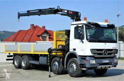 camion Mercedes Actros 3236 Pritsche 8,00 m + KRAN / 8x4