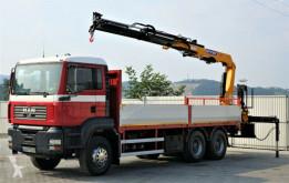 kamion MAN TGA 26.350 Pritsche 6,50 m + Kran *6x4!