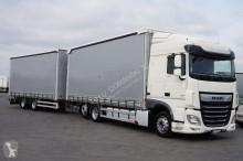 camion DAF - 106 / 480 / ACC / E 6 / ZESTAW PRZEJAZDOWY 120 M3 + remorque