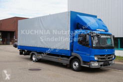 camion Mercedes Atego 818L Pritsche 7,22m Plane LBW Klima Luftge