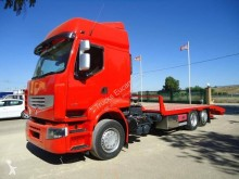 Renault heavy equipment transport truck