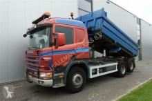 camião Scania P124.400 6X2 DUMPER MANUAL FULL STEEL EURO 3