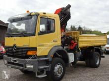 camion Mercedes 1828 ATEGO 4x4 PALFINGER PK 14600 D Kran Kipper