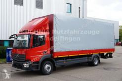camion Mercedes Atego 1218L Pritsche 7,22m Plane LBW Klima Eur-6
