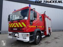 camião Iveco ML 150E24 brandweer blusvoertuig - feuerwehr - fire brigade - 18 KVA Generator - Dubbele cabine, dubble cabin, mannschaftskabine