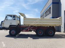 Steyr three-way side tipper truck