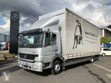 camion Mercedes Atego 1224 L Curtainsider Pritsche + Plane