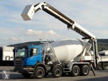 kamion Scania P 380/ CEMENTMIXER/ STETTER + CEMENT TAPE/ RADIO