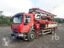 Renault concrete pump truck truck
