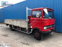 Mercedes 808 Manual, Steel suspension, Borden truck