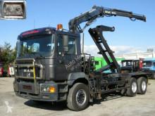 camião MAN F2000 26.403 FL Abrollkipper mit Kran Funk