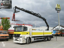 camion Mercedes Axor 2540 L 6x2 Pritsche Heckkran Lift/Lenk