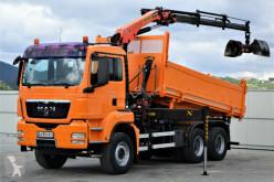 camião MAN TGS 33.360 Kipper 5,10 m + Kran *6x4!
