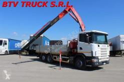 camion Scania 94 L 300 - MOTRICE CASSONE FISSO CON GRU