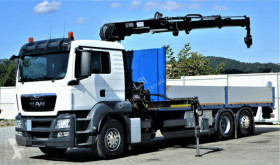camion MAN TGS 26.400 Pritsche 6,70 m+Kran/FUNK*6x2!