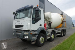 camion Iveco TRAKKER 410 8X4 10M3 BARYVAL MANUAL FULL STEEL EURO 4
