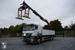 camion Mercedes Axor 2540 Pritsche mit PK21001L+Greifer