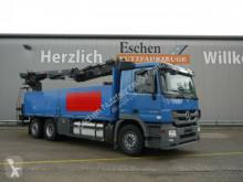 camião Mercedes 2548 LL, 6x2, Hiab 211 DL-3 Kran, Klima, Luft
