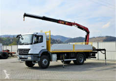 ciężarówka Mercedes Axor 1829 Pritsche 5,70m + Kran*Topzustand