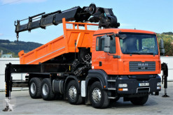 MAN flatbed truck