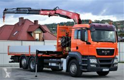 camion MAN TGS 26.400 Pritsche 7,00 m + Kran *6x2!