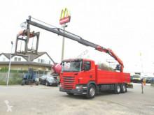 camion Scania G 420 LB6x2+HNB Pritsche Heckkran Lenk+Lift, PK1
