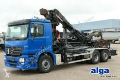 camion Mercedes 2544 L 6x2 Actros, Meiller 20.65, Jonsered Kran,