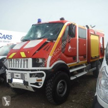camion pompiers accidenté