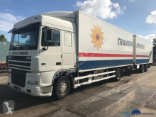 DAF mono temperature refrigerated trailer truck