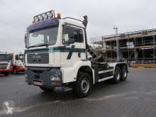 camion MAN 33.430 Haaksysteem + Container /Kraan