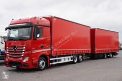 camion remorque nc MERCEDES-BENZ - ACTROS / 2545 / E 6 / ZESTAW 120 M3 / BIG SPACE + remorque