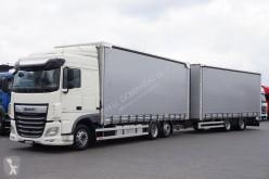 kamion s návěsem DAF - 106 / 480 / ACC / E 6 / ZESTAW PRZEJAZDOWY 120 M3 + remorque