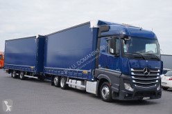 camion remorque nc MERCEDES-BENZ - ACTROS / 2545 / E 6 / ZESTAW PRZEJAZDOWY 120 M3 + remorque