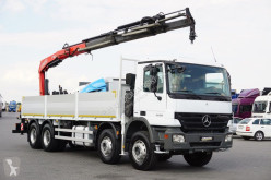 Fassi MERCEDES-BENZ - ACTROS / 3236 / 8 X 4 / SKRZYNIOWY + HDS 190 truck
