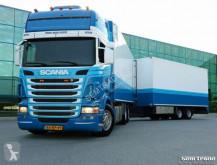camion remorque Scania R480 6X2 EURO 5 RETARDER 48CC COMBI TRANSPORT /