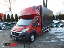 camion Fiat DUCATOPLANDEKA 10 PALET KLIMA WEBASTO TEMPOMAT PNEUMATYKA LEDY