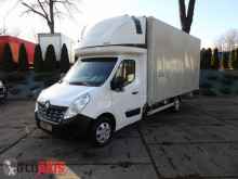 camion Renault MASTERPLANDEKA 10 PALET KLIMA WEBASTO TEMPOMAT SERWIS ASO [ 774