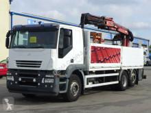 camion Iveco Stralis 420*Euro 5*Terex*Zange*Hydraulisch Gabel