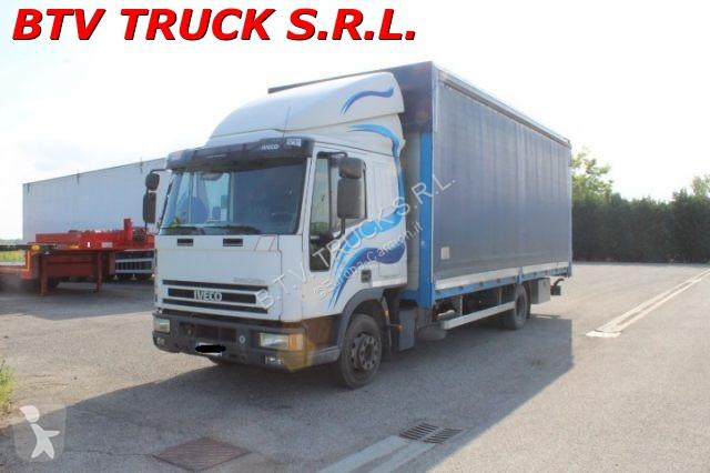 Voir les photos Camion Iveco EUROCARGO 100 E 21 CENTINATO 2 ASSI