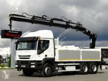 camião Iveco STRALIS 450 E5 EEV / 6X4 /CRANE HIAB 166/ REMOTE