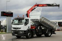ciężarówka Renault LANDER 280/4X2/3 SIDED TIPPER+CRANE FASSI F130