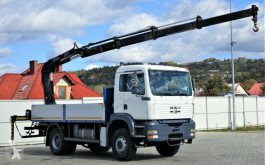 camion MAN TGA 18.410 Pritsche 4,80 m + Kran *4x2!