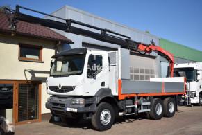 ciężarówka Fassi RENAULT - KERAX 410 DXI 6x4 F210 *2009* 10.6m-1600kg