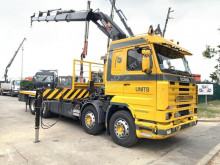 camião Scania 113H-360 STREAMLINE + HIAB 330-4 + RADIO - MANUAL GRS 900 3+3 - PLATFORM 6m70 - NEUMATICOS 90% - SUPER CONDITION / SUPER EST